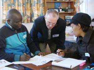 Jim and colleagues, Mpumalanga 2012