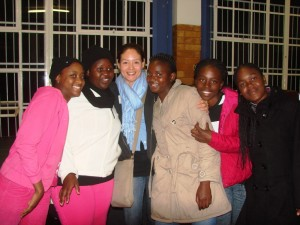 Laurie Lee at Leadership Camp - Sabie, RSA